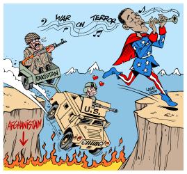 Merci à Carlos Latuff - copyleft Carlos Latuff.