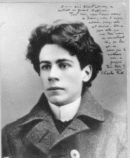 Émile Nelligan à l'âge de 19 ans. Copyright © Archives nationales du Canada. L'auteur de la photo est inconnu. Le numéro de référence à l'Anc: ANC C-88566