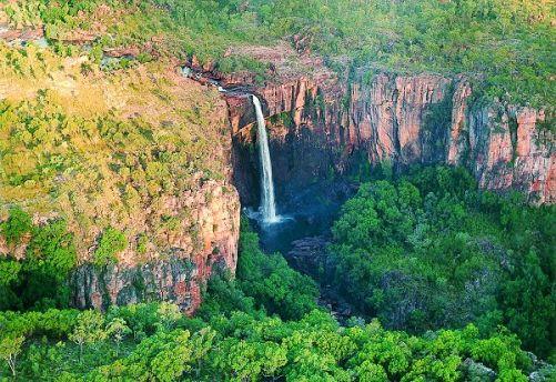 Kakadu Escarpment in Kakadu National Parc, Australia.