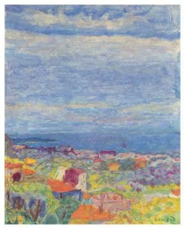 Pierre Bonnard - Vue de Cannet.