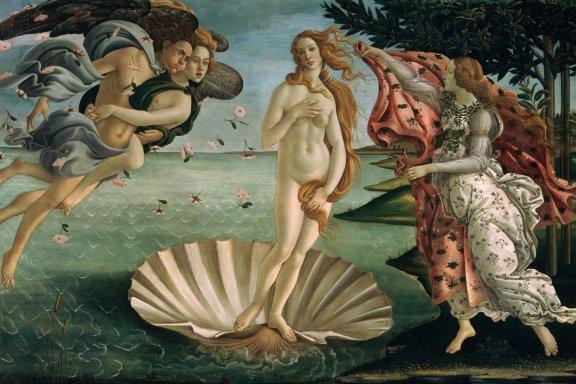 Botticelli - La Naissance de Vénus.