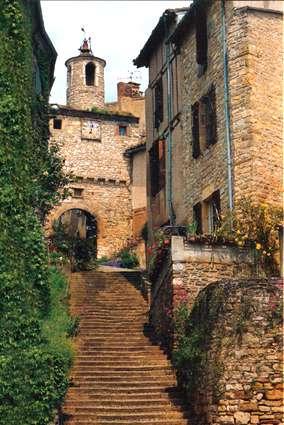 Cordes sur Ciel, Languedoc, Sud de la France.