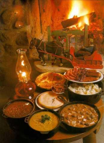 Festin du temps des sucres (source: lien sur l'illustration).