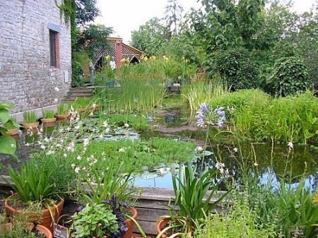 Une partie du Jardin des Paradis, Cordes sur Ciel, France.
