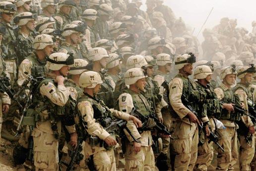 La pérennité des tyrannies et l'entêtement des servitudes sous un même uniforme: Inquisition capitaliste en Iraq.