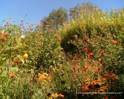 Jardins des Paradis, Cordes sur Ciel, France.
