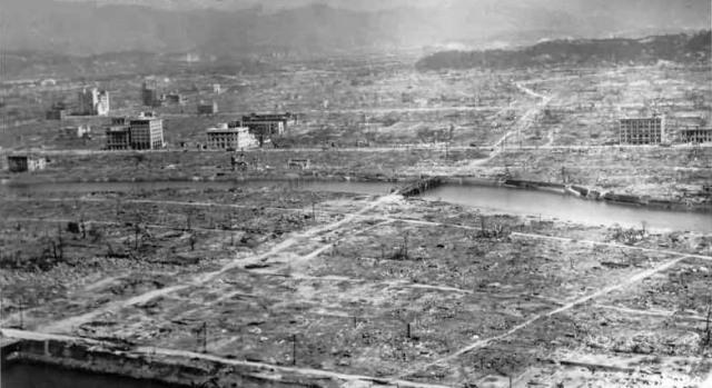 Hiroshima aftermath...
