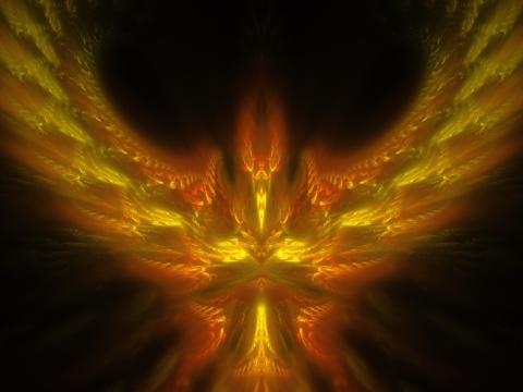 Heart of Fire (Coeur de Feu) - Source: Fractal Forest, lien sur l'image.