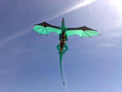 Cerf-volant Dragron  (Dragon Kite) - Lien sur l'image.
