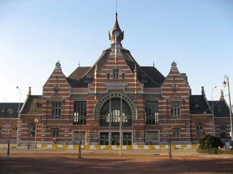 Gare de Schaerbeek, Bruxelles.