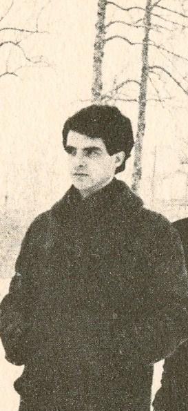 Jacques Renaud, l'auteur de Le Cassé, vers le milieu des années soixantes.