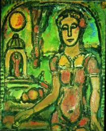 La_Petite_Magicienne_Georges_Rouault_1948-1949