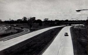 La 417 vers Ottawa ; 1961.