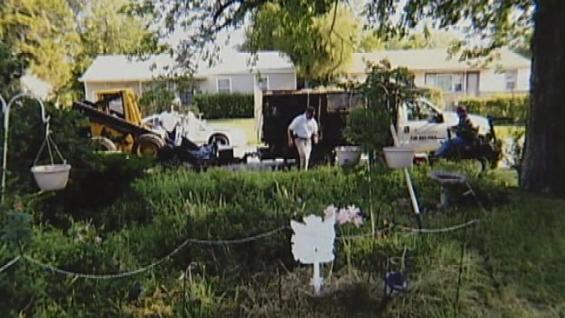 Denise Morrison a pris cette photo des destructeurs de potagers. Source : Oklahoma's Own. Cliquer.