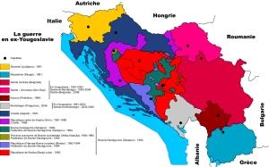 La guerre en ex-Yougoslavie, mars 1991 -