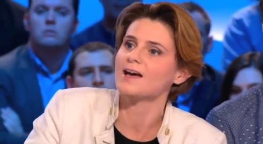 Caroline Fourest à la télévision française, 19 novembre 2012. le lendemain de l'agression sauvage qu'elle décrit ci-dessous, et dont elle aurait été victime..