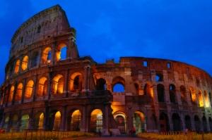 Le Colisé de Rome. Ah, y en reste..