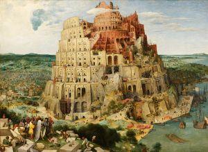 Tour de Babel. Pierre Brueghel l'Ancien, 1560.
