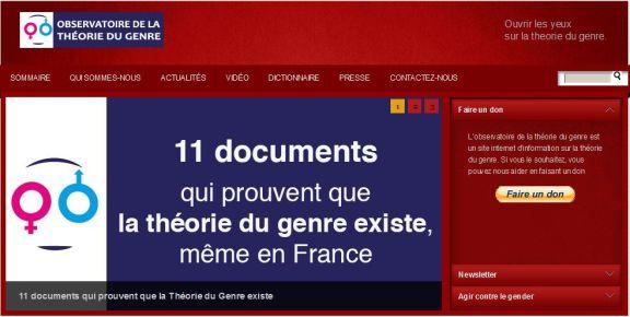 11 documents qui prouvent que la théorie du genre existe même en France