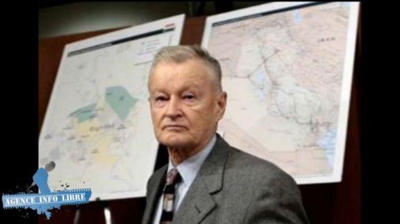 Zbigniew Brzezinski, auteur du Grand Échiquier (1997).