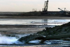 Les sables pétroliers bitumineux de l'Alberta (tar sands)