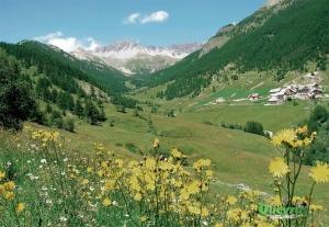 Parc naturel régional du Queyras, Hautes Alpes françaises ..